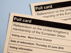 Brexit röstkort